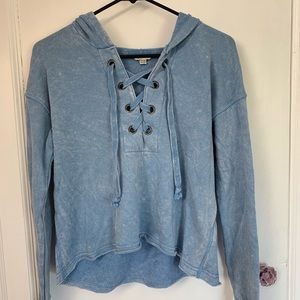 Barely Worn American Eagle Distressed Sweatshirt